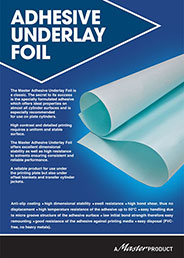 Adhesive Underlay Foil