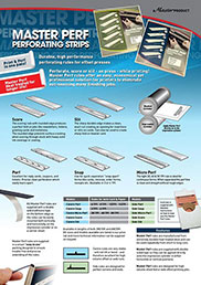 Master Perf Perforating Strips