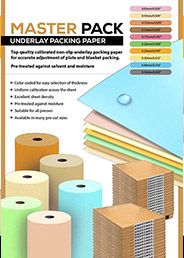 Underlay Packing Paper